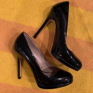 Zara basic black stilettos